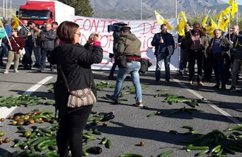 COAG agricultores puerto de motril granada