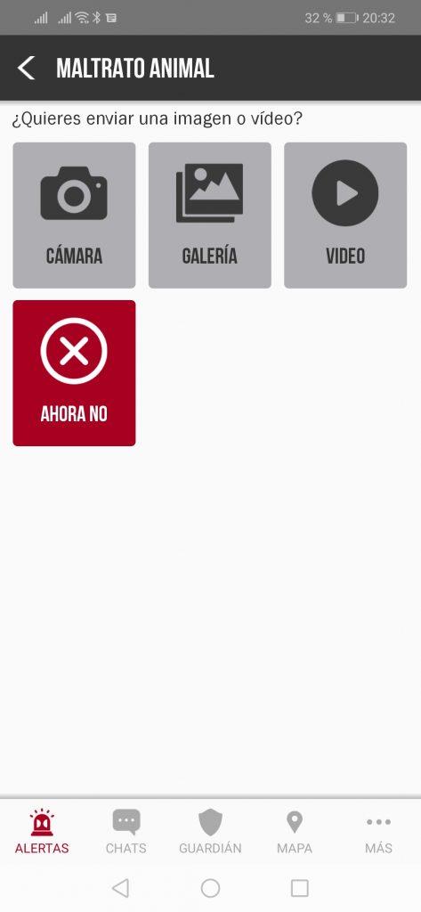 AlertCops maltrato animal app